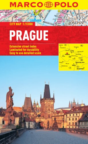 9783829769587: Prague Marco Polo City Map (Marco Polo City Maps)