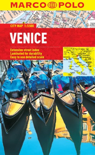 9783829769600: Venice Marco Polo City Map (Marco Polo City Maps)