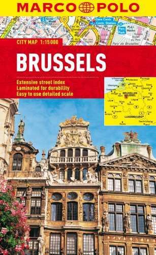 9783829769648: Brussels Marco Polo City Map (Marco Polo City Maps)