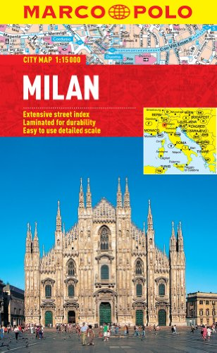 9783829769686: Milan City Map (Marco Polo City Maps)