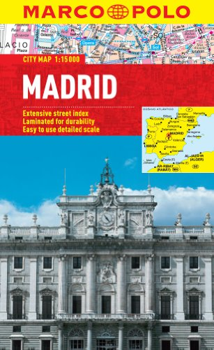 9783829769716: Madrid City Map (Marco Polo City Maps)