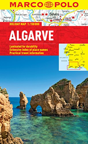 9783829770200: Algarve Marco Polo Holiday Map (Marco Polo Holiday Maps)