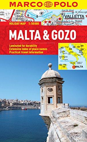 9783829770279: Malta & Gozo Marco Polo Holiday Map (Marco Polo Holiday Maps)