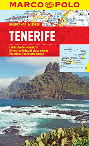 9783829770286: Tenerife Marco Polo Holiday Map (Marco Polo Maps)