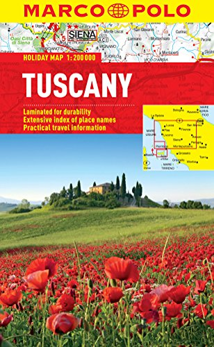 9783829770293: Tuscany Marco Polo Holiday Map (Marco Polo Holiday Maps)