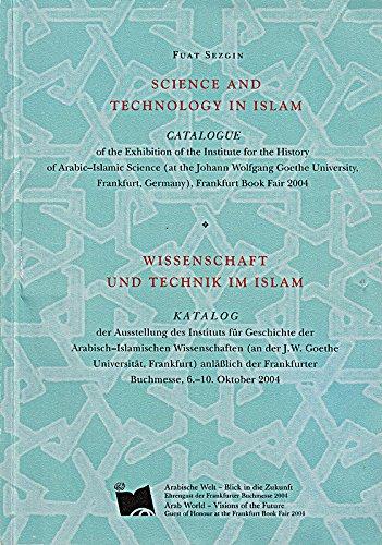 9783829800792: Science and Technology in Islam / Wissenschaft und Technik im Islam