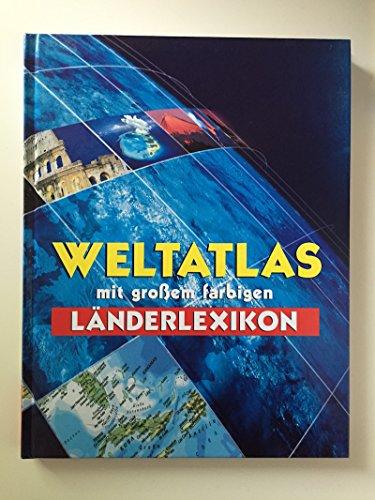 9783829900201: Weltatlas mit großem farbigen Länderlexikon.