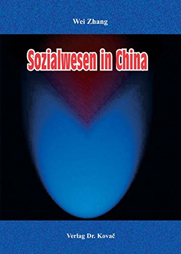 9783830018841: Sozialwesen in China (Livre en allemand)