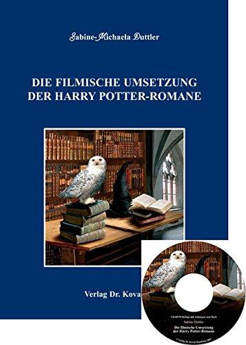 9783830033141: Die filmische Umsetzung der Harry Potter-Romane