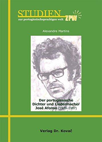 9783830067474: Der portugiesische Dichter und Liedermacher José Afonso (1929-1987)