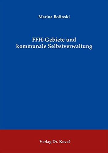 9783830073024: FFH-Gebiete und kommunale Selbstverwaltung (Umweltrecht in Forschung und Praxis)