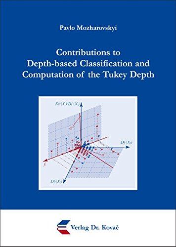 9783830082132: Contributions to Depth-based Classification and Computation of the Tukey Depth