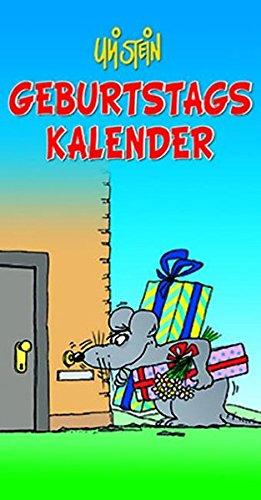 9783830375340: Geburtstagskalender: Immerwährender Wandkalender