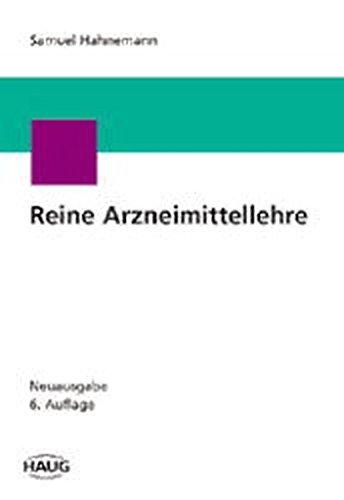 9783830402633: Reine Arzneimittellehre, 6 Bde.