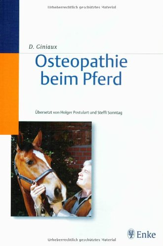 9783830410133: Osteopathie beim Pferd.