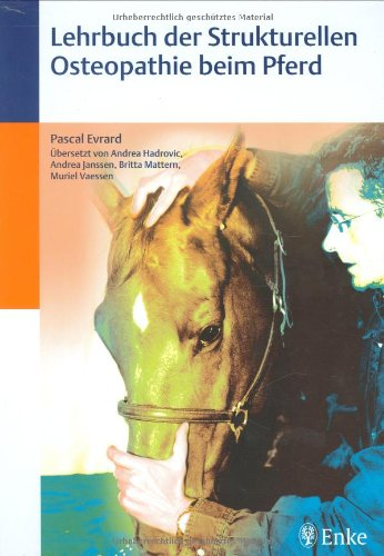 9783830410300: Lehrbuch der Strukturellen Osteopathie beim Pferd