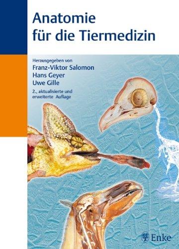 anatomie fuer die tiermedizin von salomon - ZVAB