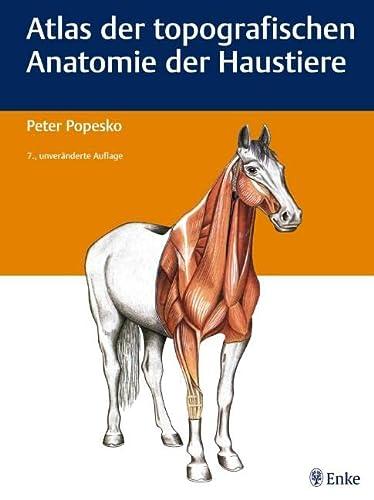 Atlas der topografischen Anatomie der Haustiere: P. Popesko