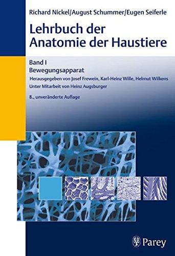 9783830441496: Lehrbuch der Anatomie der Haustiere 1: Bewegungsapparat