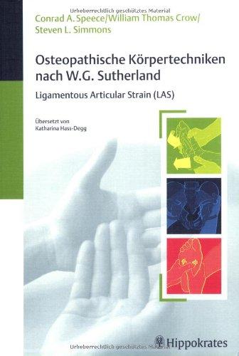 9783830452669: Osteopathische Körpertechniken nach W. G. Sutherland.
