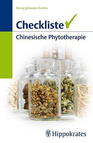 9783830453468: Checkliste Chinesische Phytotherapie