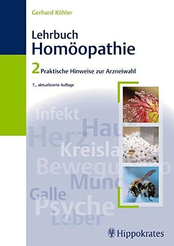 Lehrbuch der Homöopathie 2: Gerhard Köhler