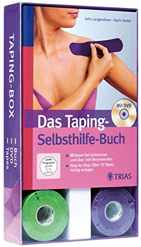 9783830468868: Taping-Box (Buch + DVD + Tape-Rollen): Die Taping-Box: alles in einem