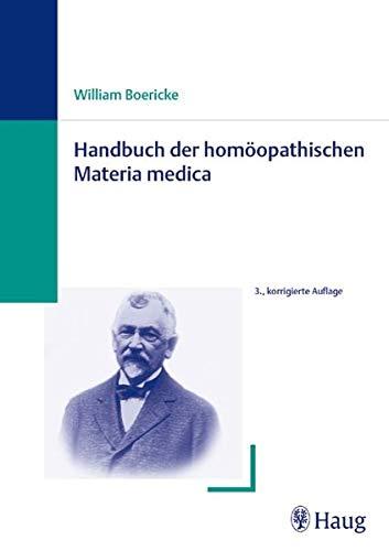 Handbuch der homöopathischen Materia medica (3830472064) by William Boericke