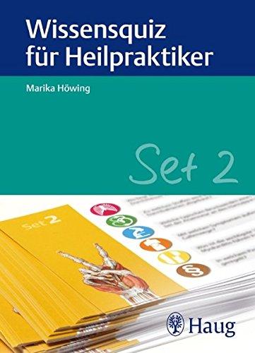 9783830475828: Wissensquiz für Heilpraktiker Set 2