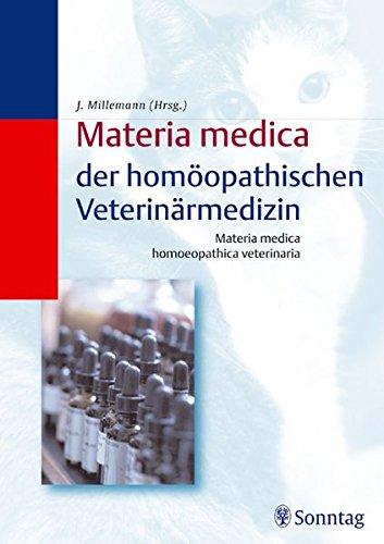 9783830490227: Materia medica der homöopathischen Veterinärmedizin /Materia medica homoeopathica veterinaria