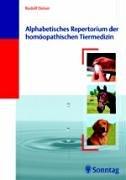 9783830490807: Alphabetisches Repertorium der homöopathischen Tiermedizin