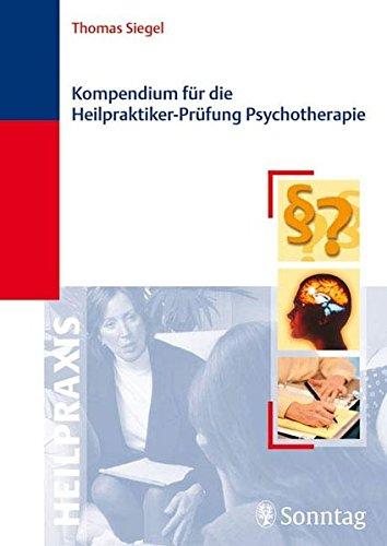 9783830491552: Kompendium für die Heilpraktiker-Prüfung Psychotherapie