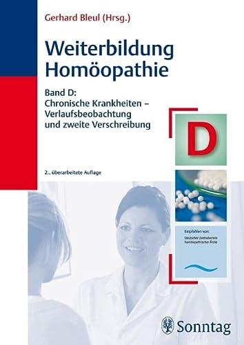 9783830491620: Weiterbildung Homöopathie, Band D