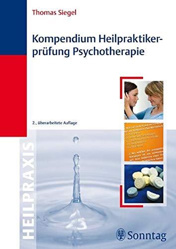 9783830492252: Kompendium Heilpraktiker-Prüfung Psychotherapie
