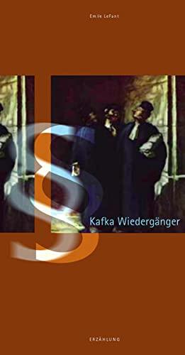 9783830508601: Kafka Wiedergänger