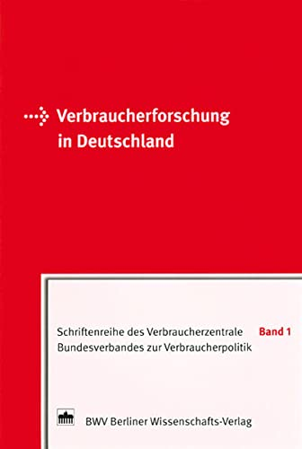 Verbraucherforschung in Deutschland (3830509251) by Hodges, Peter