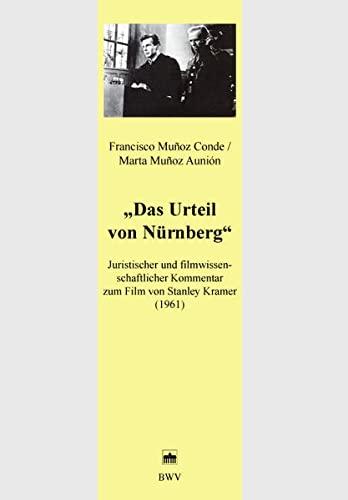 """Das Urteil Von Nurnberg """" Juristischen Und Filmwissenschaflicher Kommentar Zum Film Von ..."""