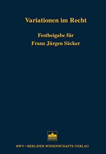 Variationen im Recht: Katharina Vera Boesche