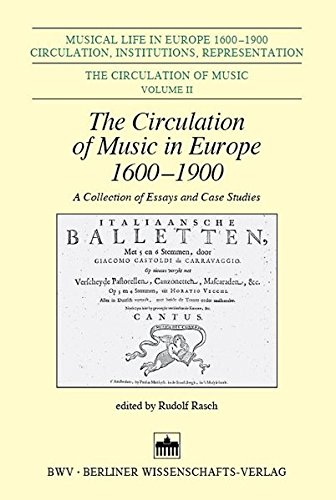 The Circulation of Music in Europe 1600 - 1900: Rudolf Rasch
