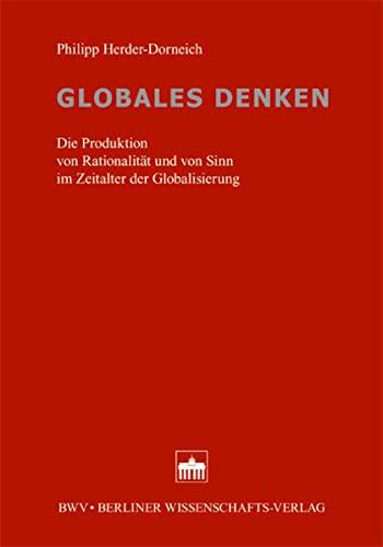 Globales Denken: Philipp Herder-Dorneich