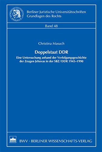 Doppelstaat DDR: Christina Masuch