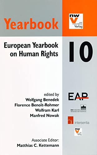 European Yearbook on Human Rights 10: n/a
