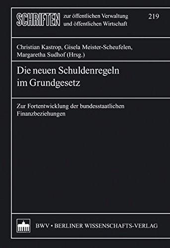 Die neuen Schuldenregeln im Grundgesetz: Christian Kastrop