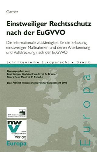 Einstweiliger Rechtsschutz nach der EuGVVO: Thomas Garber