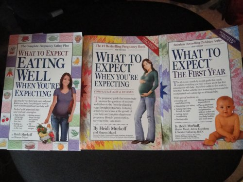 "Heidi Murkoff ""What to Expect"" Collection: Eating Well, When You're Expecting+When ..."