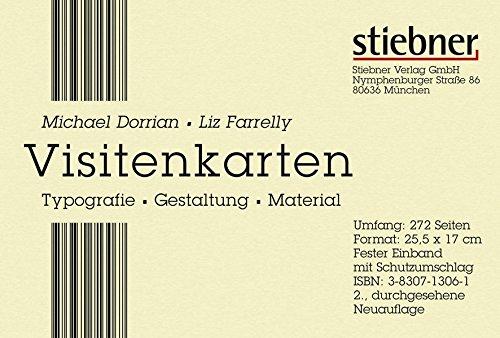 Visitenkarten: Typographie, Gestaltung, Material (9783830713067) by Michael Dorrian