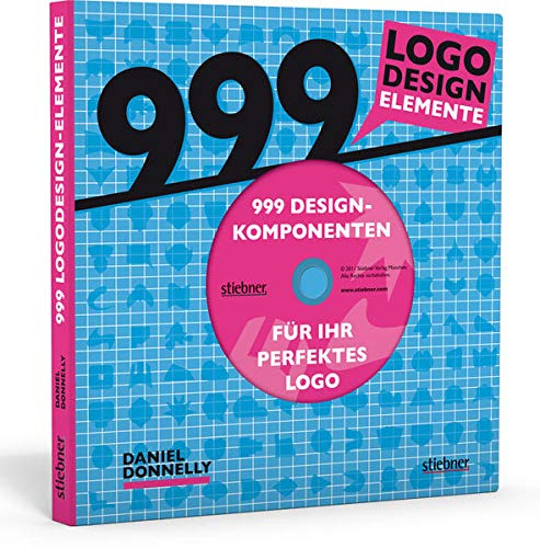 9783830714071: 999 Logodesign-Elemente: 999 Designkomponenten für Ihr perfektes Logo