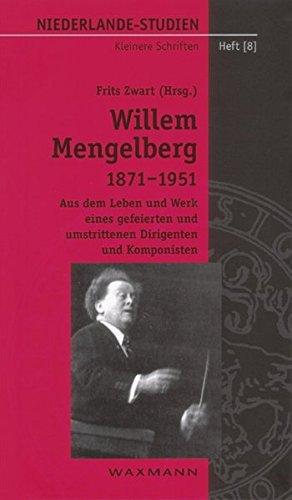 9783830911814: Willem Mengelberg (1871-1951).