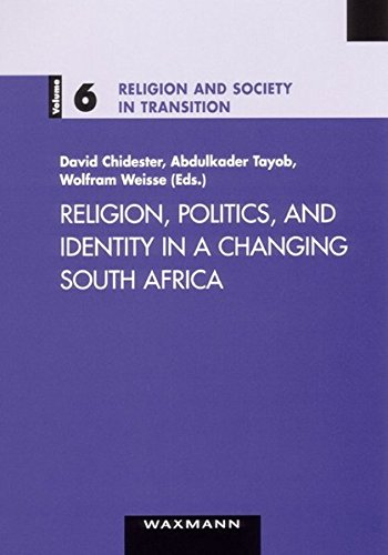 9783830913283: Religion, Politics, and Identity in a Changing South Africa (Religion and Society in Transition)