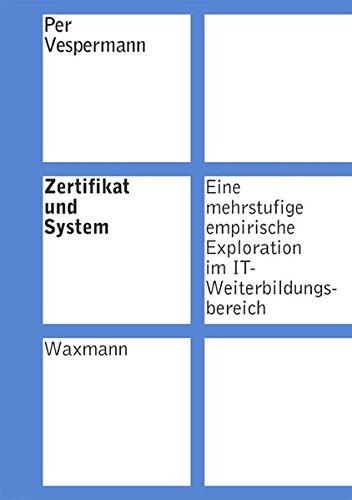 9783830915188: Zertifikat und System